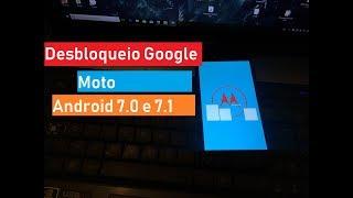 Desbloqueio Google Moto G4 Plus, G5, Android 7.0 e 7.1 How to Factory Reset Protection(FRP) Moto