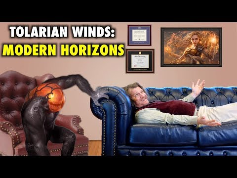 Tolarian Winds: The Potential Positives and Negatives of Modern Horizons - Magic The Gathering VLOG