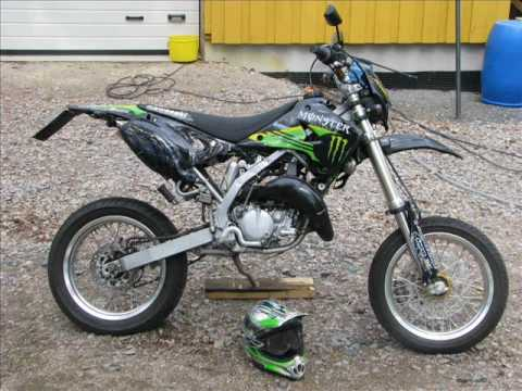 Kawasaki KDX 125 Supermoto Video