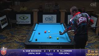 2017 US Bar Table Championships 9-Ball: Shane Van Boening vs Mitch Ellerman