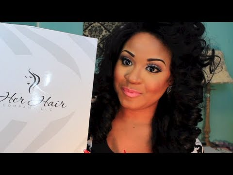 Unboxing My Weave - Her Hair Company (Brazilian Straight)