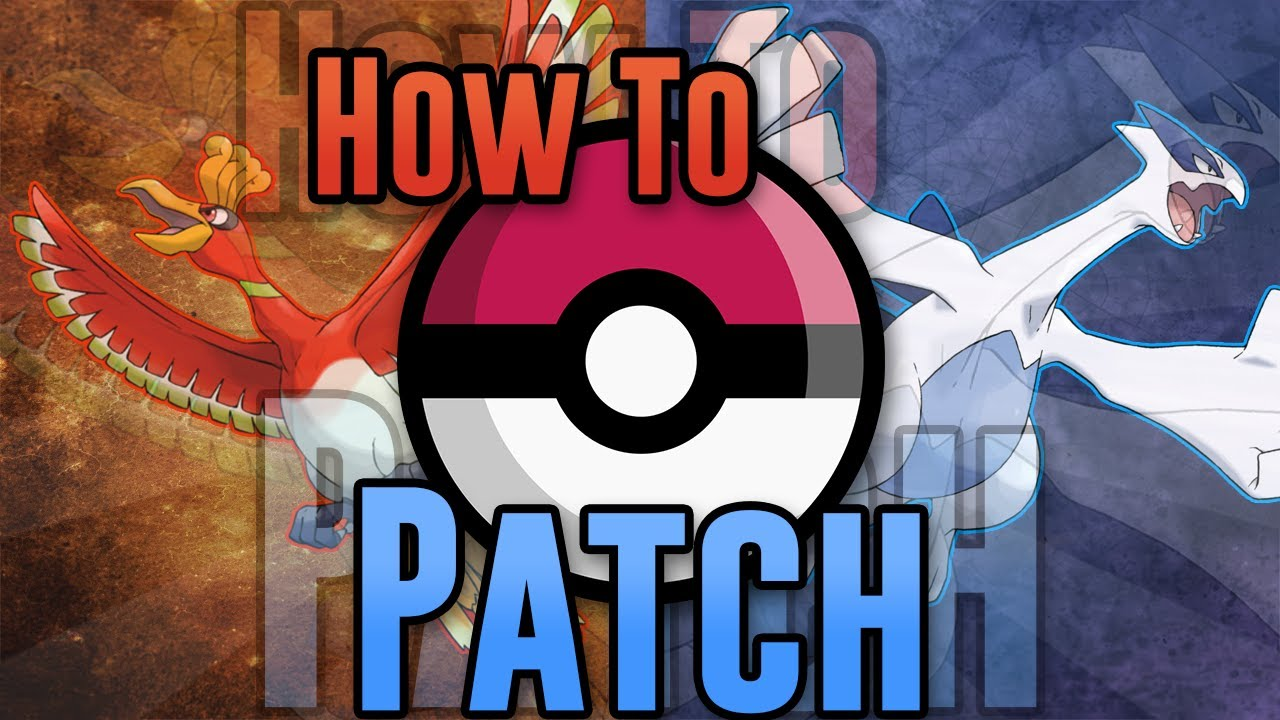pokemon sacred gold patched rom