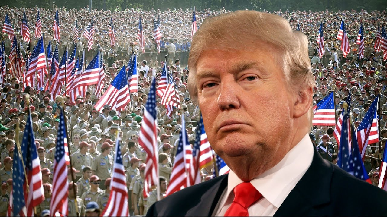 LIVE: President Donald Trump MASSIVE SPEECH at 2017 National Scout Jamboree 7/24/17 TRUMP LIVE