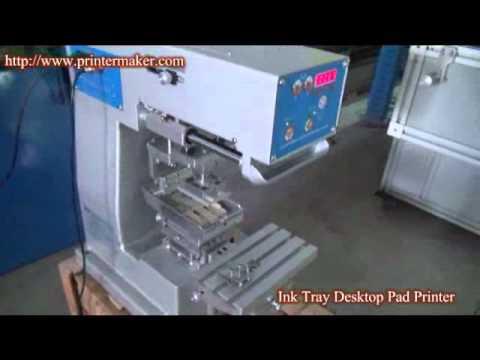 Ink Tray Desktop Pad Printer (China Best)