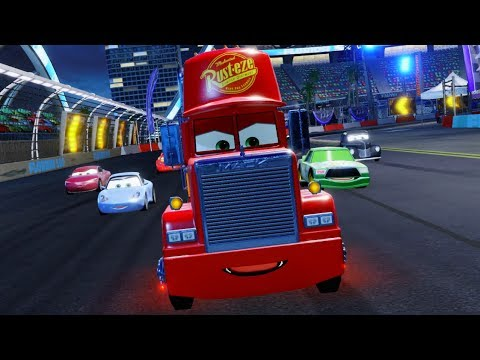 Cars 3 Driven to Win Gameplay Mack Radiator Springs Race Track
