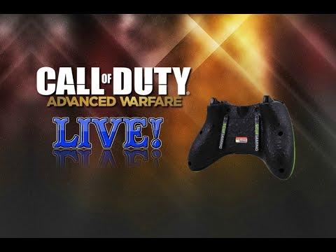 New Controller! - Call Of Duty Advanced Warfare live W thegremlingamer (nipple Sucking Rw1) video