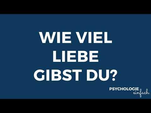 Wieviel Liebe gibst du? | psychologie-einfach.de