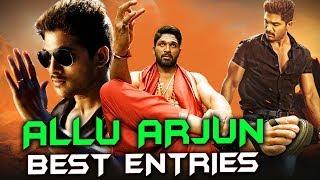 Allu Arjun's All Best Entry Scenes | DJ, Sarrainodu, Dangerous Khiladi 2, Main Hoon Lucky The Racer
