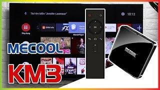 Trải Nghiệm Đánh Giá Chi Tiết MECOOL KM3✅Android TV 9.0 Ram 4GB - Rom 64GB