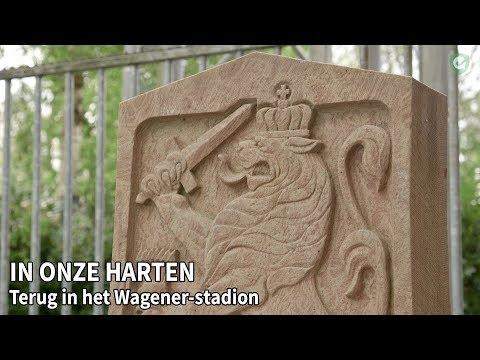 """Herdenkingsmonument """"In onze harten"""" terug in Wagener Stadion"""