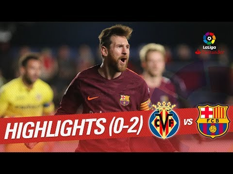 Resumen de Villarreal CF vs FC Barcelona (0-2) thumbnail