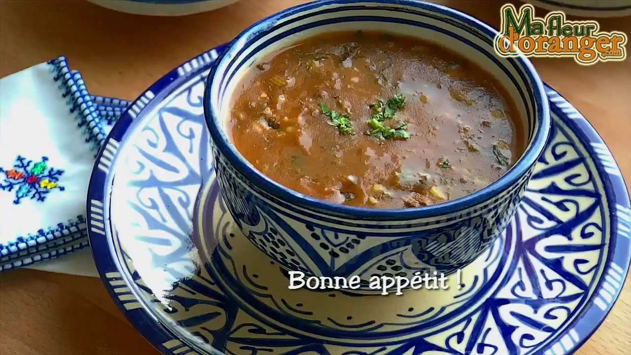 Recette de harira soupe traditionnelle marocaine - Recette de cuisine algerienne traditionnelle ...