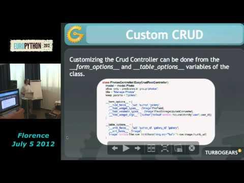 Image from Costruire applicazioni web complesse con le pluggable applications di TurboGears2 in pochi minuti