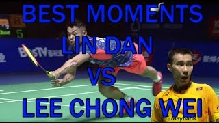BEST MOMENTS LIN DAN VS LEE CHONG WEI - Badminton Thaihot China Open 2015