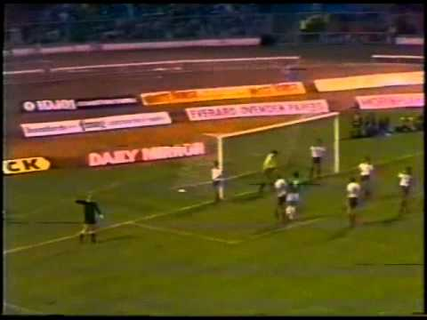 England v Germany 13th OCT 1982