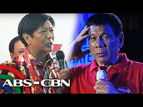 TV Patrol: Duterte, Marcos opisyal nang inendorso ng INC