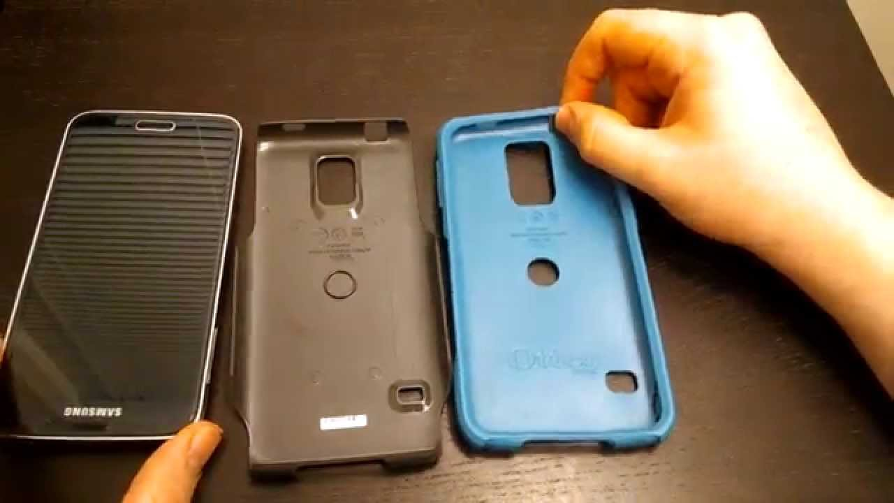 Samsung Galaxy S5 Otterbox Commuter Series Case Review - YouTube