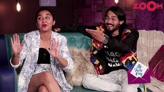 Bhuvan Bam & Prajakta Koli's fun answers in the game 'Quickie' | By Invite Only