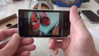 Распаковка Nokia lumia 520 с алиэкспресс