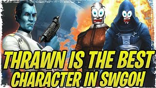 Thrawn Easily Counters Malak and Darth Revan! Best Darth Revan Counter! Best Character in SWGoH!