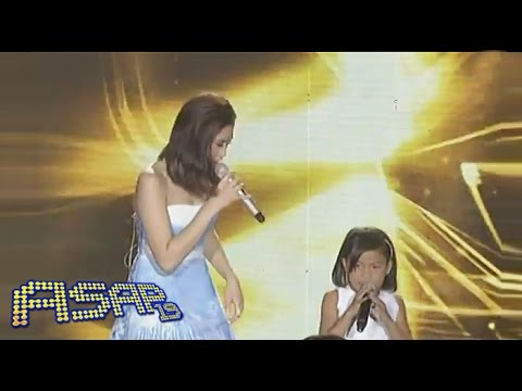 Sarah G, Zsa Zsa sing with Lyca & Darlene on ASAP
