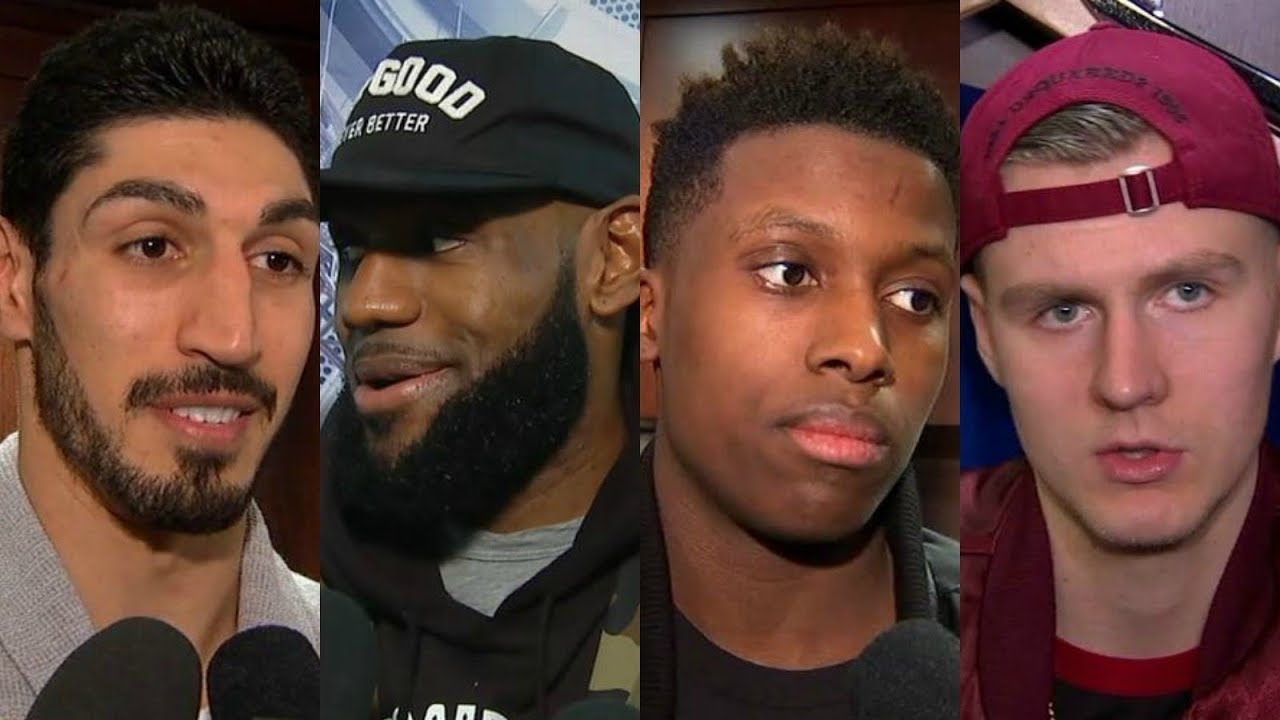 LeBron James, Enes Kanter, Frank Ntilikina and Kristaps Porzingis in a war of words | ESPN