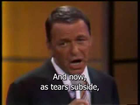 My way Sinatra Subtitled