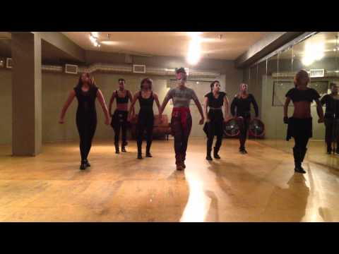Dawn Richard: Bombs [Choreography]