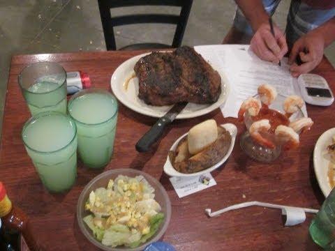 77oz Steak Challenge Black Iron Grill's Meat Monstrosity - Food Challenge