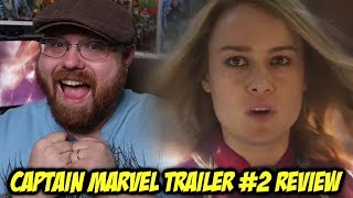 Captain Marvel Trailer #2 - Review/Breakdown!!!
