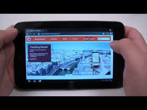 Vodafone Smart Tab 7 hands-on