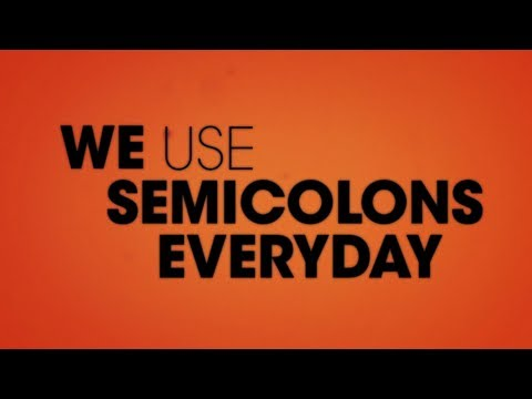 Comedy: The Lonely Island - SEMICOLON (feat. Solange) LYRICS VIDEO #WACKWEDNESDAYS