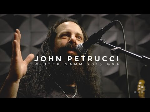 Ernie Ball: Q&A with John Petrucci | Live from NAMM 2016