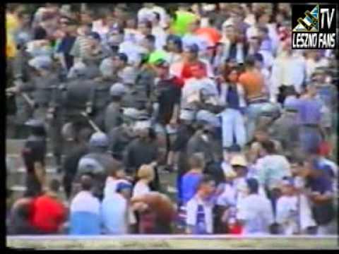 TV LESZNO FANS - CZ. 3 STADION KIBICE UNII LESZNO W ZIELONEJ GÓRZE 1996