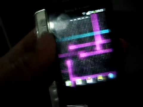 Sony Ericsson Xperia x10 mini pro com Gingerbread Android 2.3.5