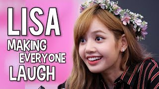 LISA MAKING EVERYONE LAUGH! #AceLalisaDay