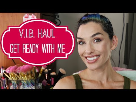 Sephora VIB Sale Haul + First Impressions   Get Ready With Me