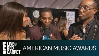 Migos Teases Quavo's Debut Solo Album at 2018 AMAs | E! Red Carpet & Award Shows