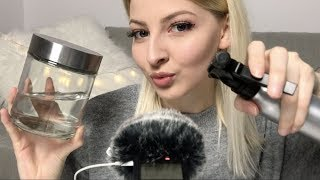 [ASMR] ♡ Water and Liquids Sounds (Ear to Ear) | german/deutsch