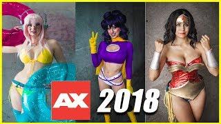 Anime Expo 2018 Cosplay Heat And Fun (4k)