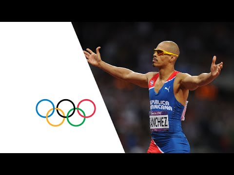Athletics Men's 400m Hurdles Gold Final - Full Replay -- London 2012 Olympic Games
