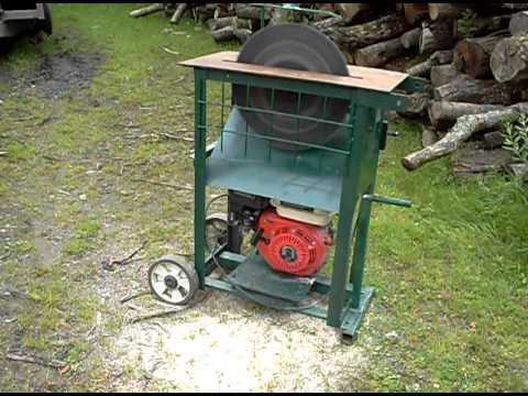 Circular Saw Bench With 15 Quot Blade And Honda Type Petrol