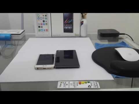 Apple IPhone 5S vs Sony Xperia Z1 | Português BR | Parte 01