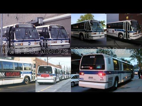 NYCTA 1996 Novabus T80206 RTS Review
