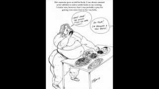 "BBW Weight Gain Comic - Deviant Art ""Bigggie"""