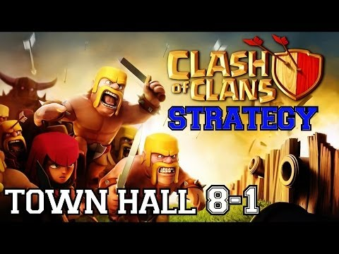 Clash of Clans Strategy: Town Hall 8   Rapid Training Army Configuration & Raid Targeting