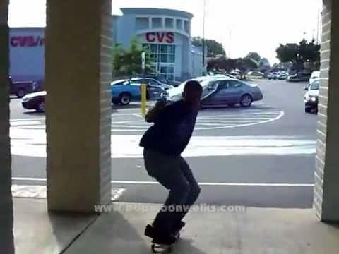 Truco de skateboard con Moonwalk incluido