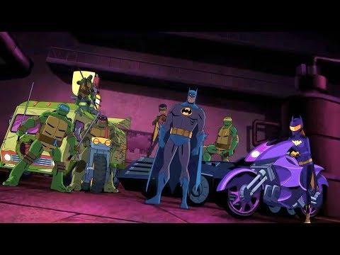 Черепашки-ниндзя: Помощь Бэтмену