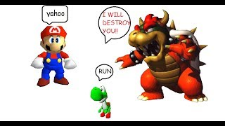 Super Mario 64 And Super Smash Bros!