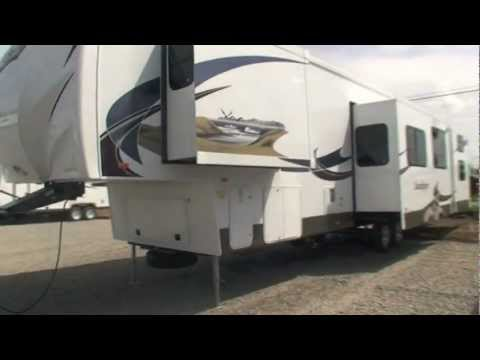 2012 Sandpiper 365SAQ Fifth Wheel Camper at RVWholesalers.com 026213 - Mojito